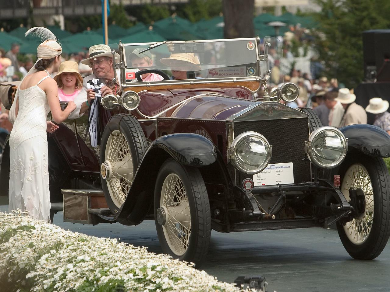 1915 Rolls Royce.  Lynn Boynton.