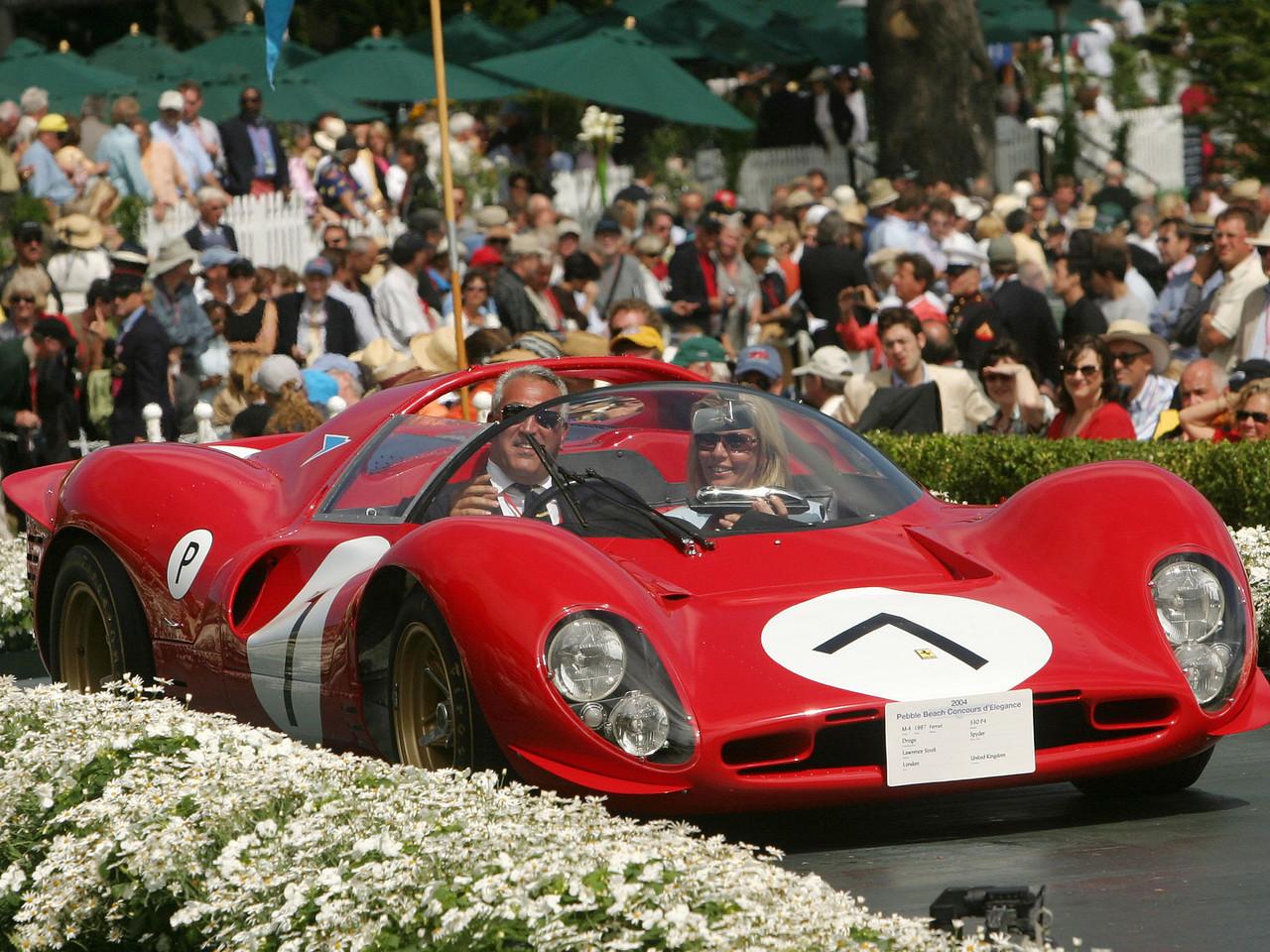 1967 Ferrari 330 P4 Drogo Spyder. 2nd Ferrari Major Race Winners.  Lawrence Stroll.