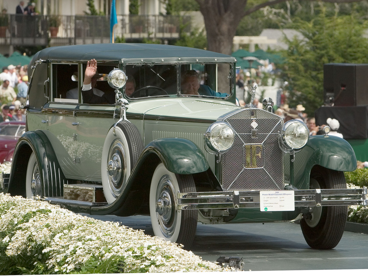 1928 Isotta Fraschini Tipo 8AS Castagna Landaulet.