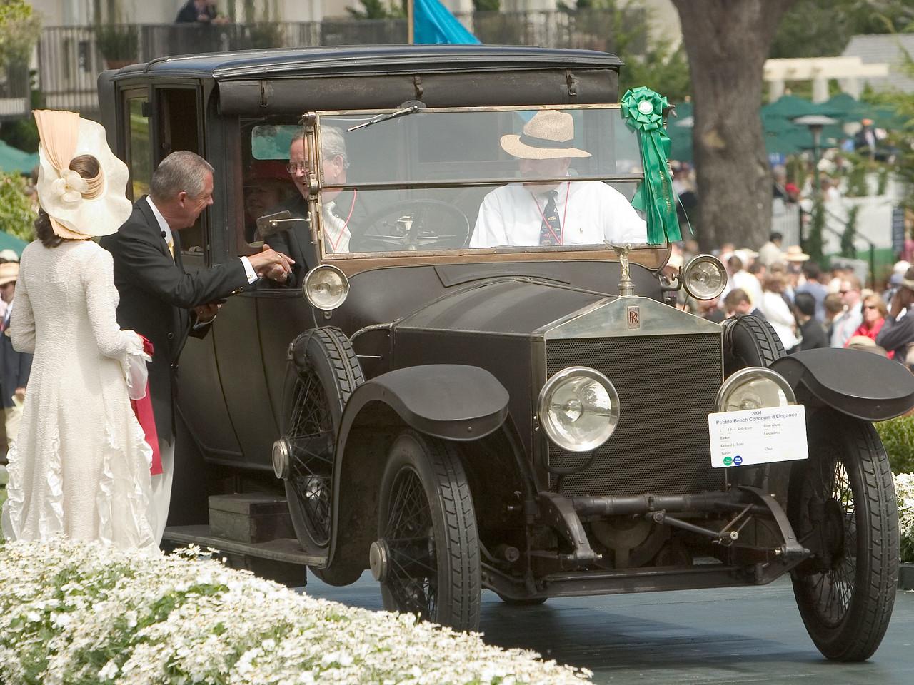 1914 Rolls-Royce Silver Ghost Barker Landaulette. 2nd Prewar Preservation.  Richard L. Scott.