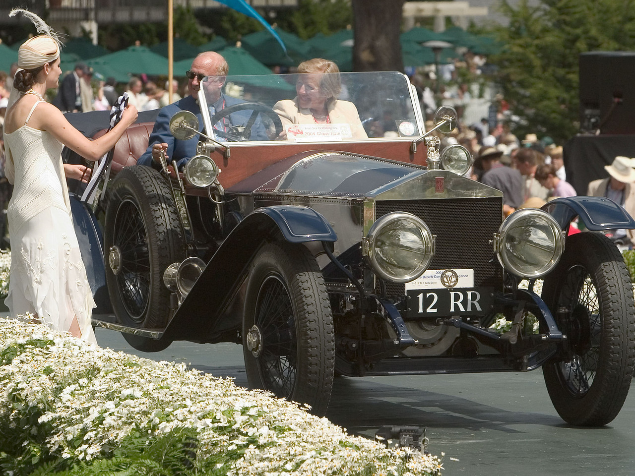 1912 Rolls Royce Silver Ghost.