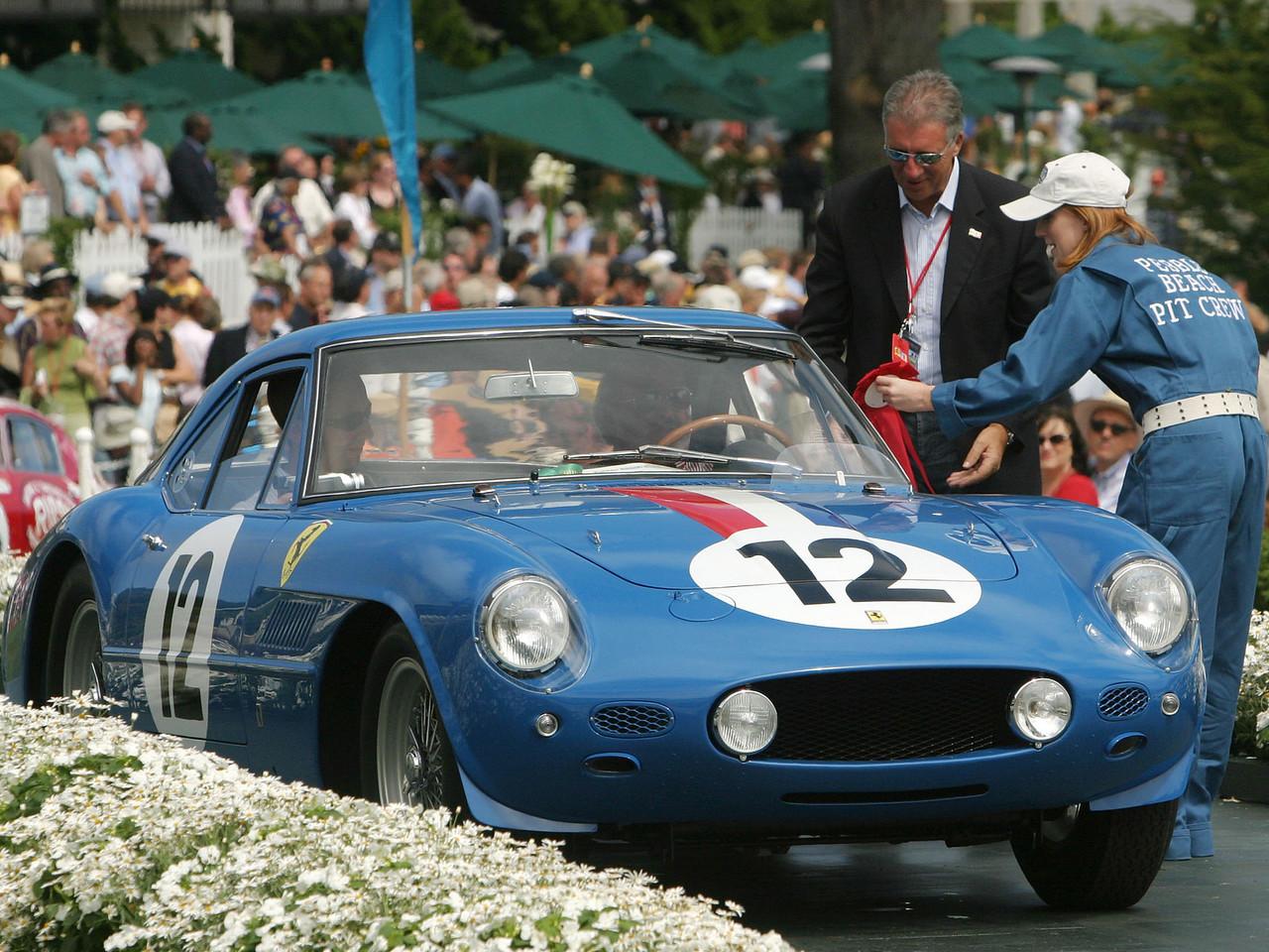 1961 Ferrari 250 GT Pininfarina Berlinetta Prototype. 2nd Ferrari Competition.  Bruce and Jolene McCaw.