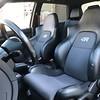 Driver's seat worn.
