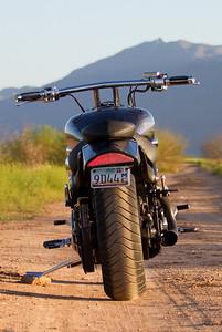 2004 Yamaha Roadstar Warrior with Fuggins Fabrication Exhaust.