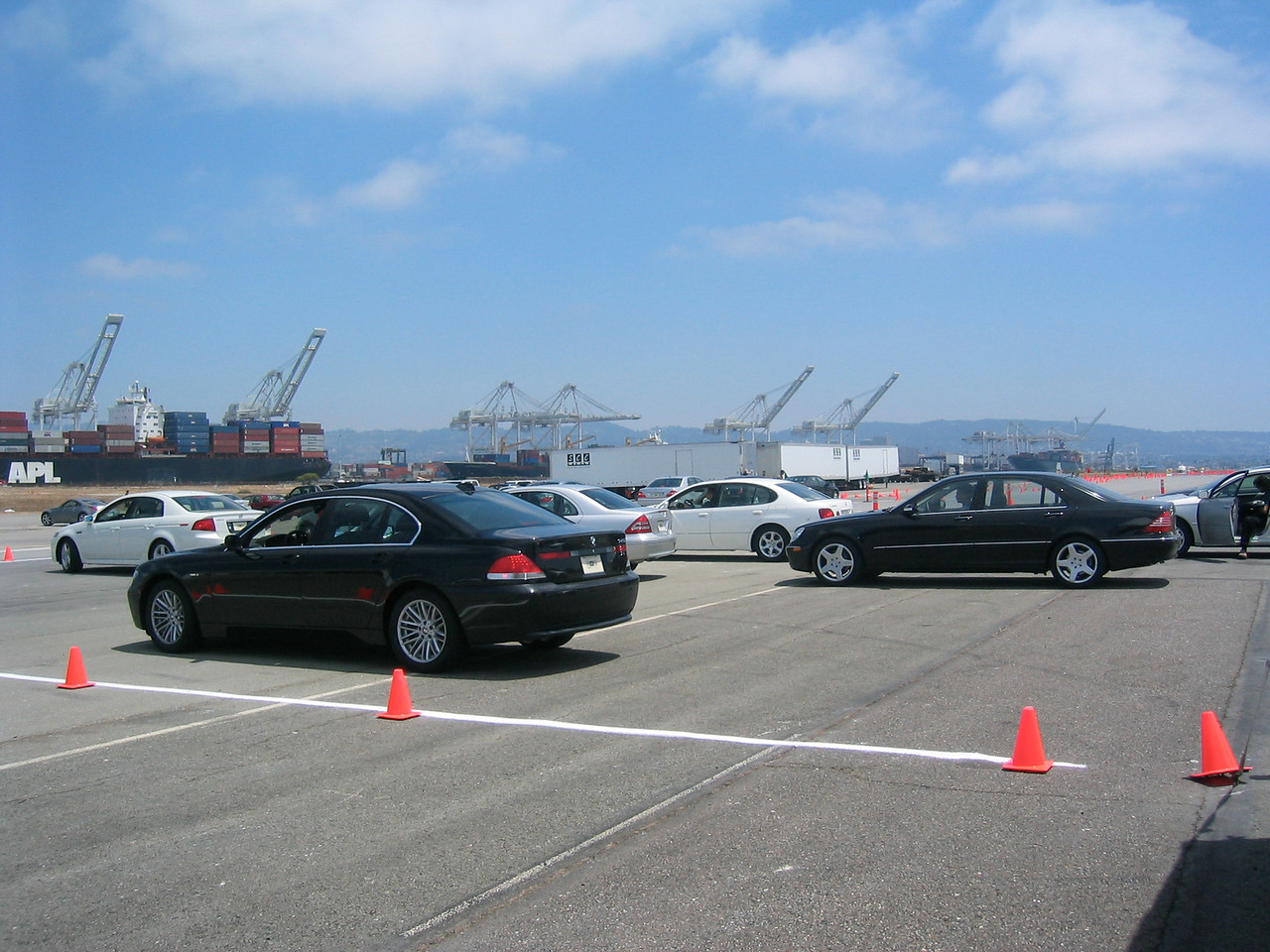 2004 07 10 Saturday - Lexus Taste of Luxury event @ Alameda Point with Marc Rice 2