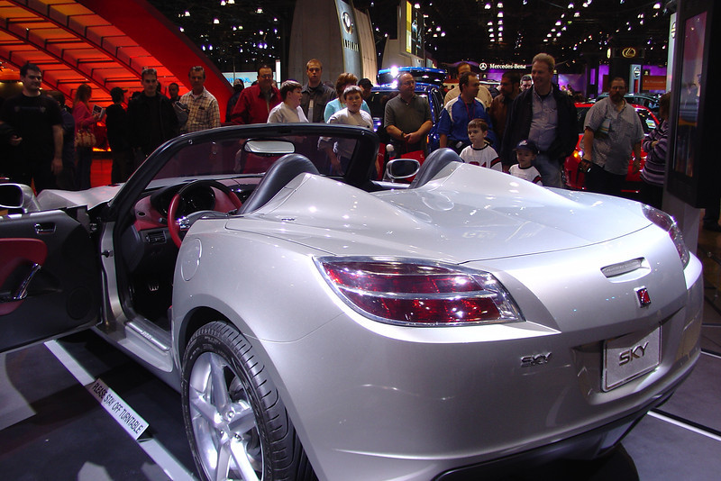 Saturn Sky at the 2005 New York International Auto Show.