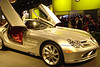 McLaren SLR at the 2005 New York International Auto Show.