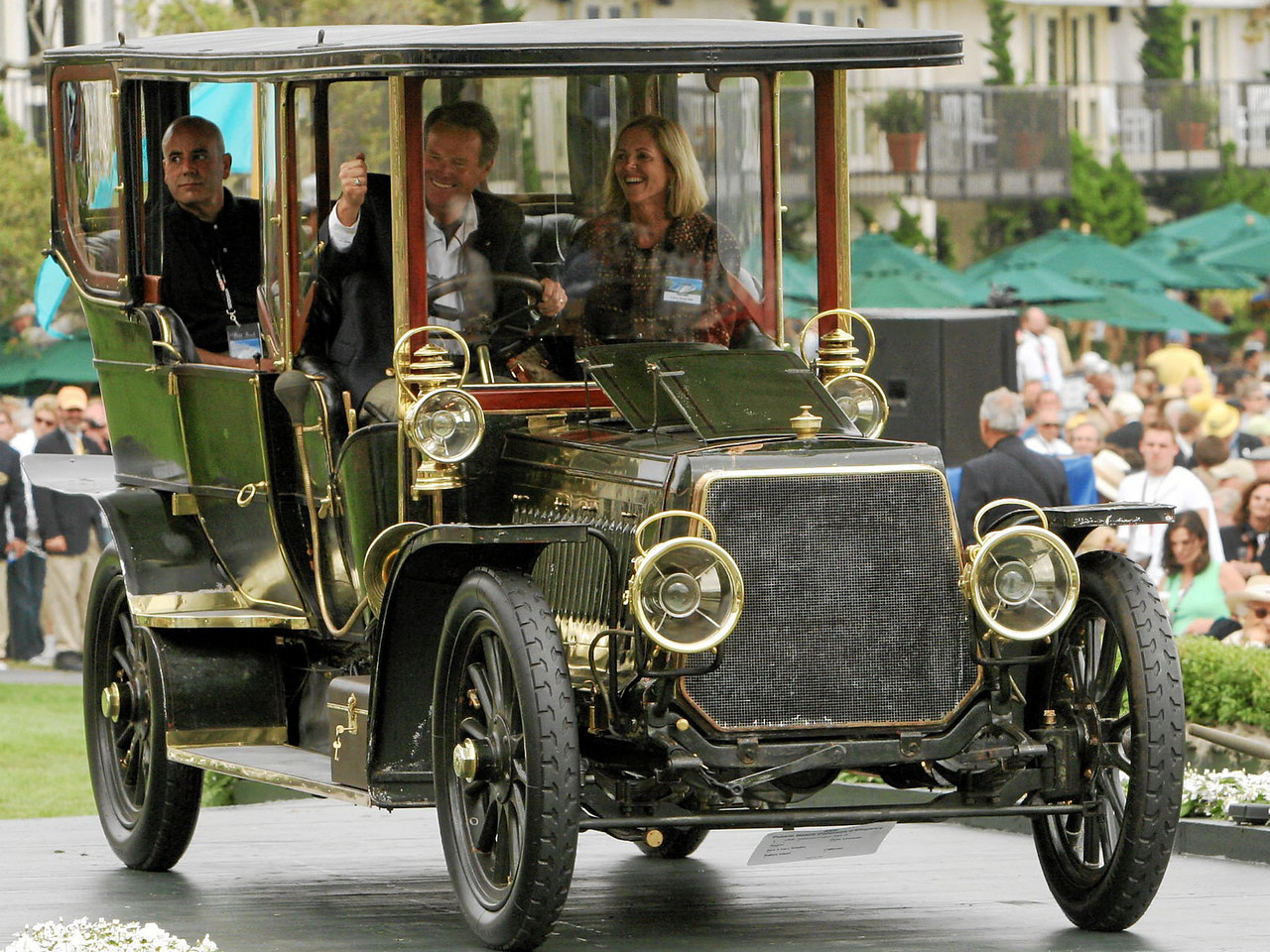 1906 Panhard et Levassor Type Q Regent Demi- Limousine owned by Rick and Lucy Rawlins from Balboa Island 1st Class L (Prewar Preservation)