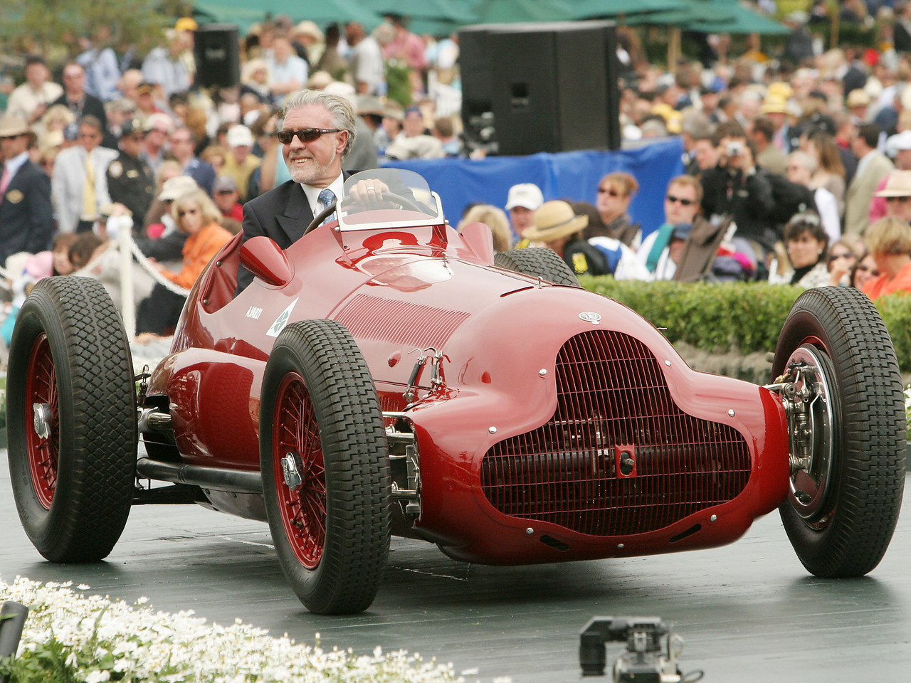 1937 Alfa Romeo Tipo 12C Monoposto owned by Neil Hadfield from London, United Kingdom 2nd Class E-2 (Alfa Romeo Prewar Race Cars)