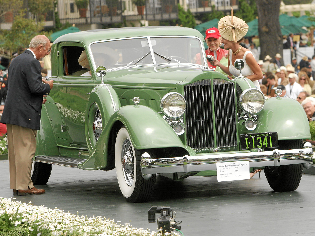 1934 Packard 1108 Dietrich Coupé owned by Frank and Milli Ricciardelli from Monmouth Beach, New Jersey 1st Class D (American Classic Closed 1925-1941)