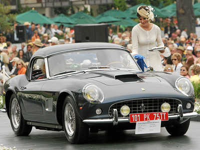 1961 Ferrari 250 GT SWB Scaglietti Spyder California owned by Peter S. Kalikow from New York, New York 1st Class M-1 (Ferrari Grand Touring)