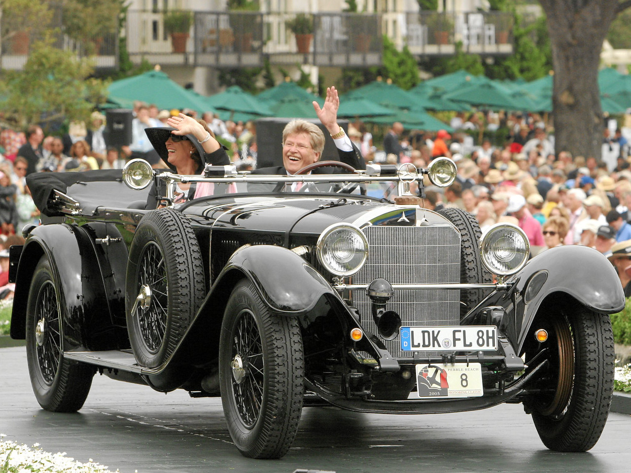 1928 Mercedes-Benz 680S Sports Tourer owned by Friedhelm Loh from Dietzhölztal, Germany 3rd Class I (Mercedes-Benz Prewar)