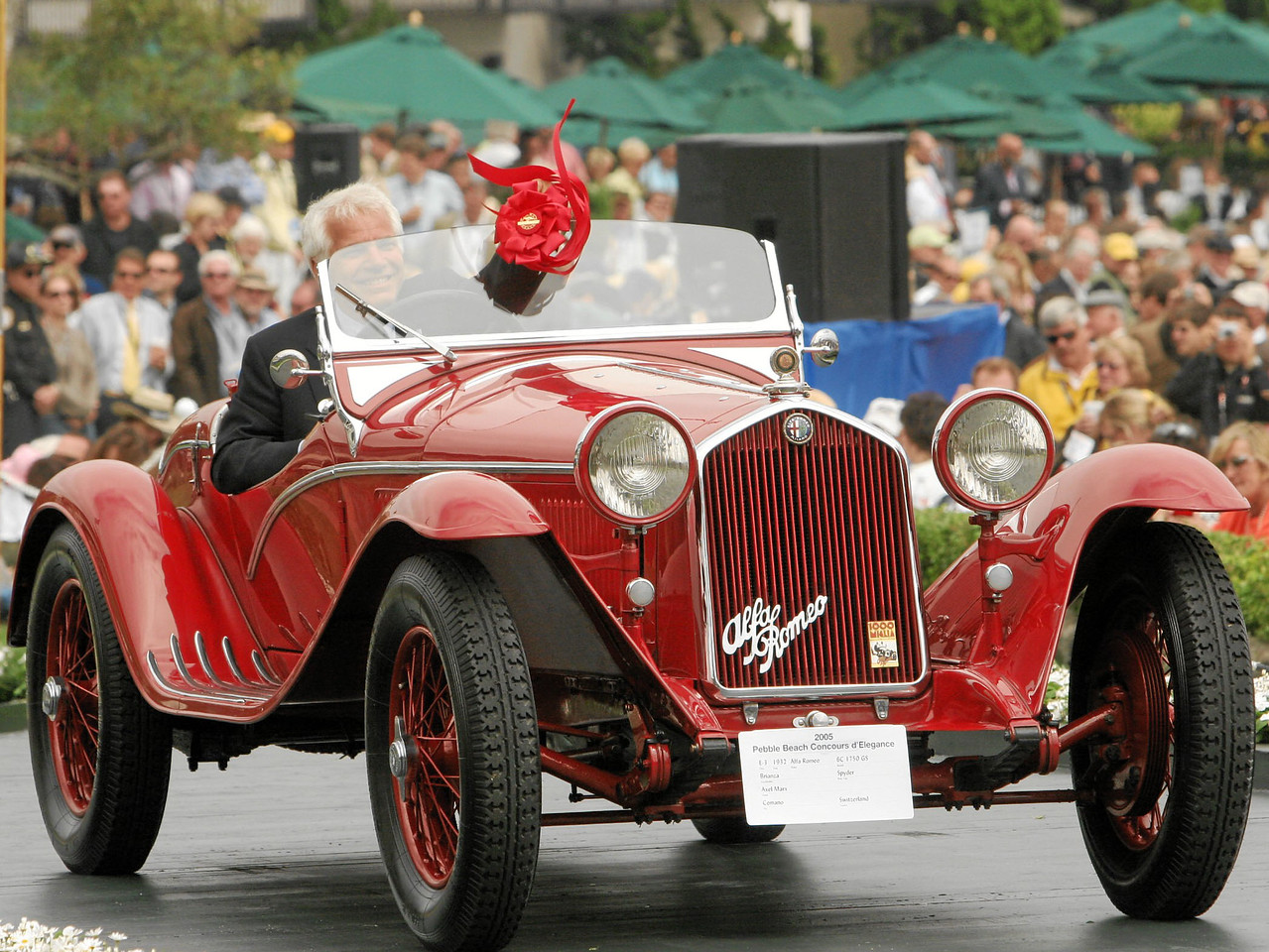 1932 Alfa Romeo 6C 1750 GS Brianza Spyder owned by Axel Marx from Comano, Switzerland 2nd Class E-3 (Alfa Romeo 6 Cylinder to 1933)