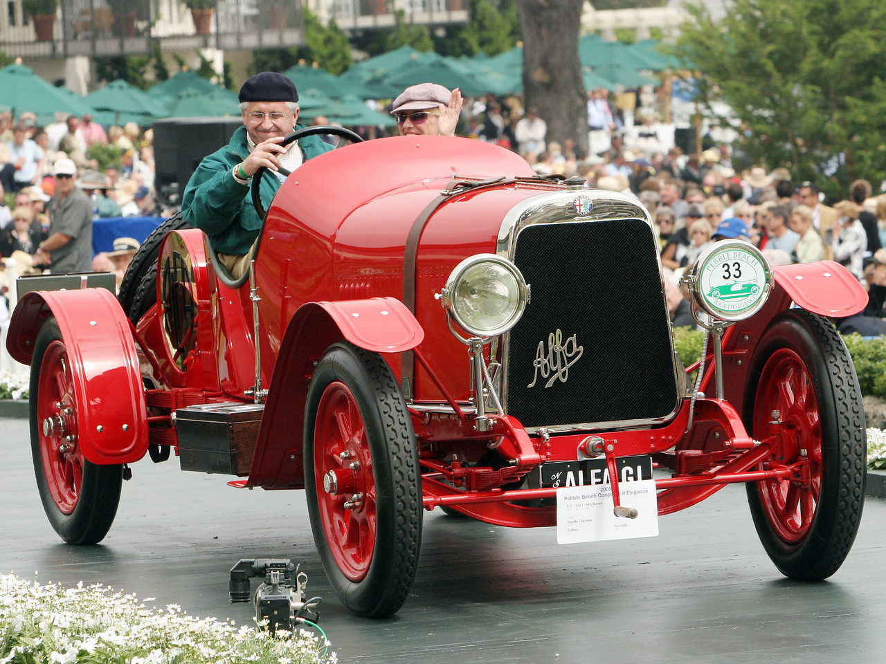 1921 Alfa Romeo G 1 Sports owned by Neville Crichton from Sydney, Australia 3rd Class E-3 (Alfa Romeo 6 Cylinder to 1933)