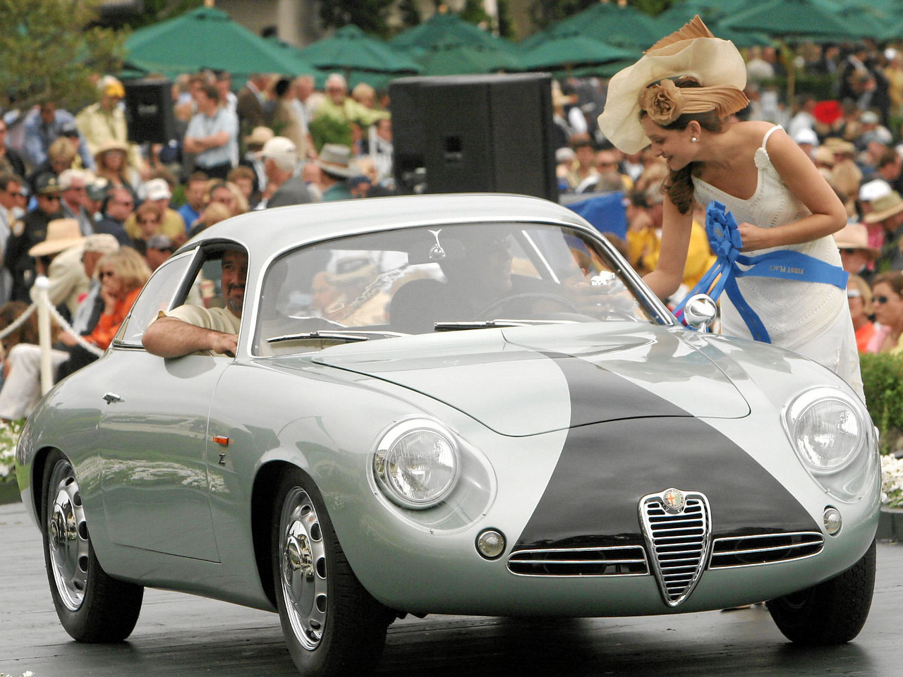 1962 Alfa Romeo SZ Coda Tronca Zagato Coupé owned by Scott Gauthier from Scottsdale, Arizona 1st  Class E-7  (Alfa Romeo Postwar)