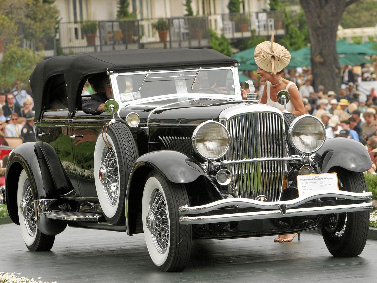 1931 Duesenberg Model J Franay Convertible Sedan owned by James M. Glickenhaus from Rye, New York 2nd Class G (Duesenberg)