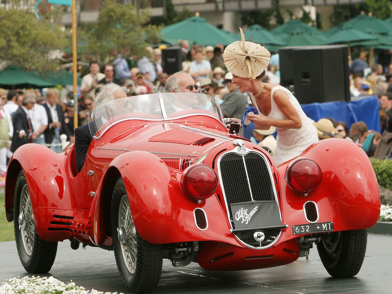 1938 Alfa Romeo 8C 2900 MM Touring Spyder owned by Ralph Lauren from New York, New York 1st Class E-2 (Alfa Romeo Prewar Race Cars)