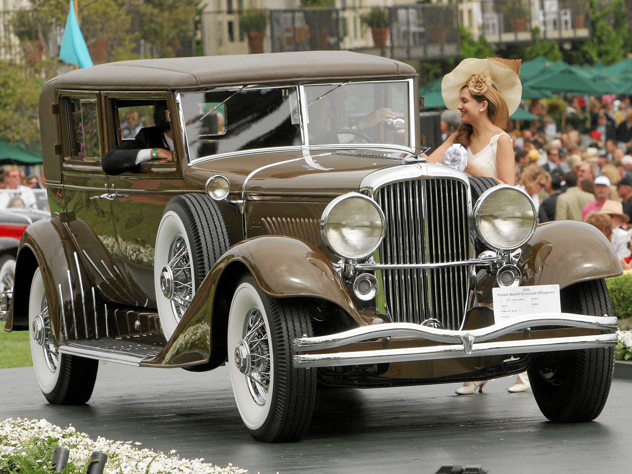 1935 Duesenberg Model J Judkins Berline owned by William B. Ruger, Jr. from Newport, New Hampshire 3rd Class G (Duesenberg)