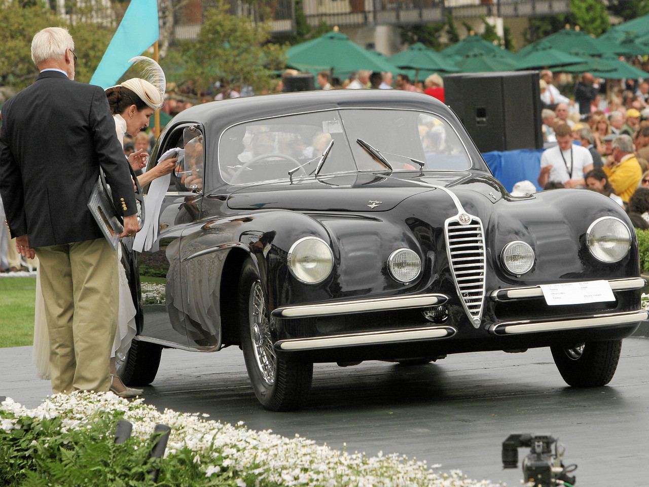 1948 Alfa Romeo 6C 2500 Touring Coupé owned by Oliver Collins from Toronto, Ontario 3rd  Class E-6  (Alfa Romeo 6C 2300 and 6C 2500)
