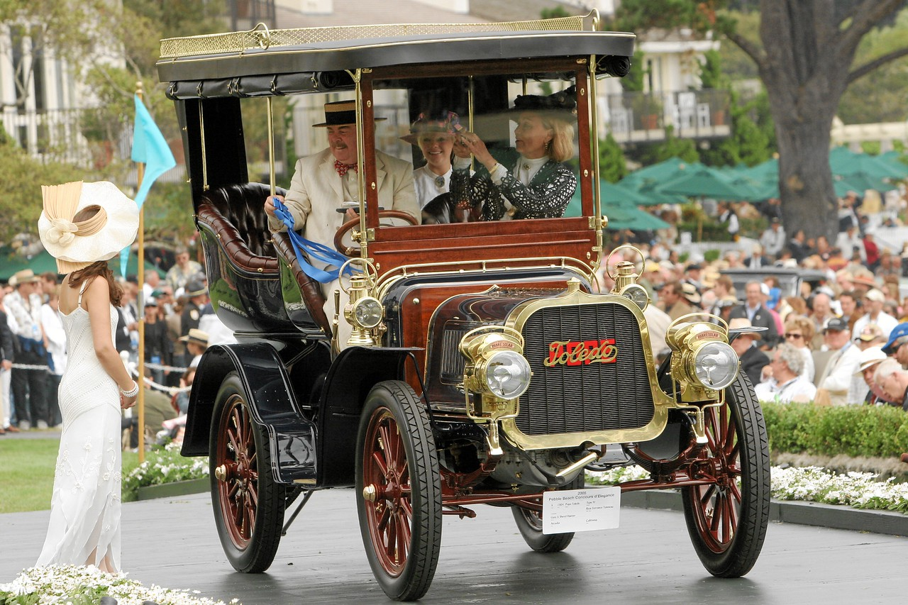 1904 Pope-Toledo Type IV Rear Entrance Tonneau. Owned by Gary and Sheryl Hunter from Arcadia 1st Class A (Antique Through 1915)