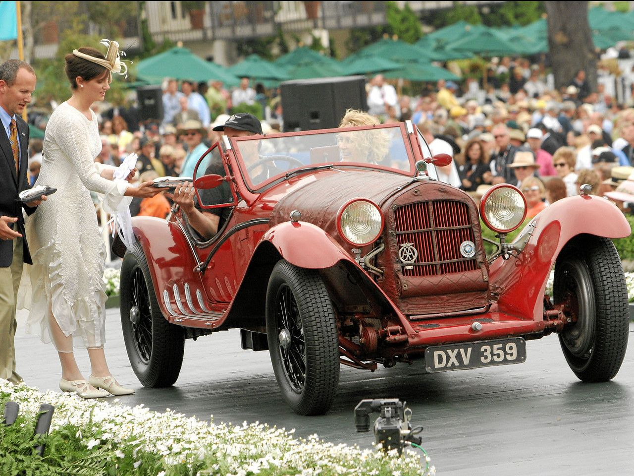 1933 Alfa Romeo 8C 2300 Touring Spyder owned by William Connor, II from Hong Kong 3rd Class L (Prewar Preservation)