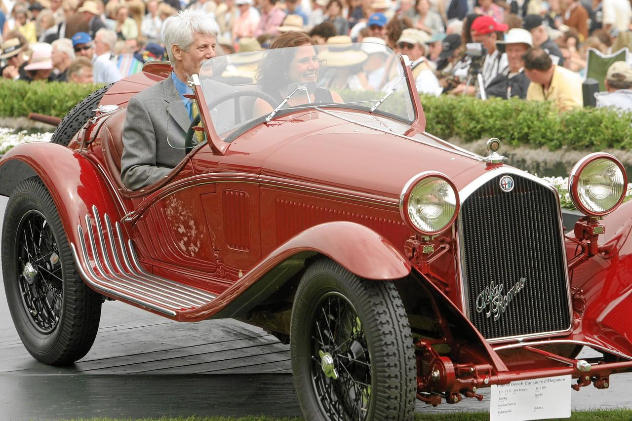 1932 Alfa Romeo 8C 2300 Touring Spyder owned by Gordon Barrett from Indianapolis, Indiana 1st Class E-4  (Alfa Romeo 8C 2300)