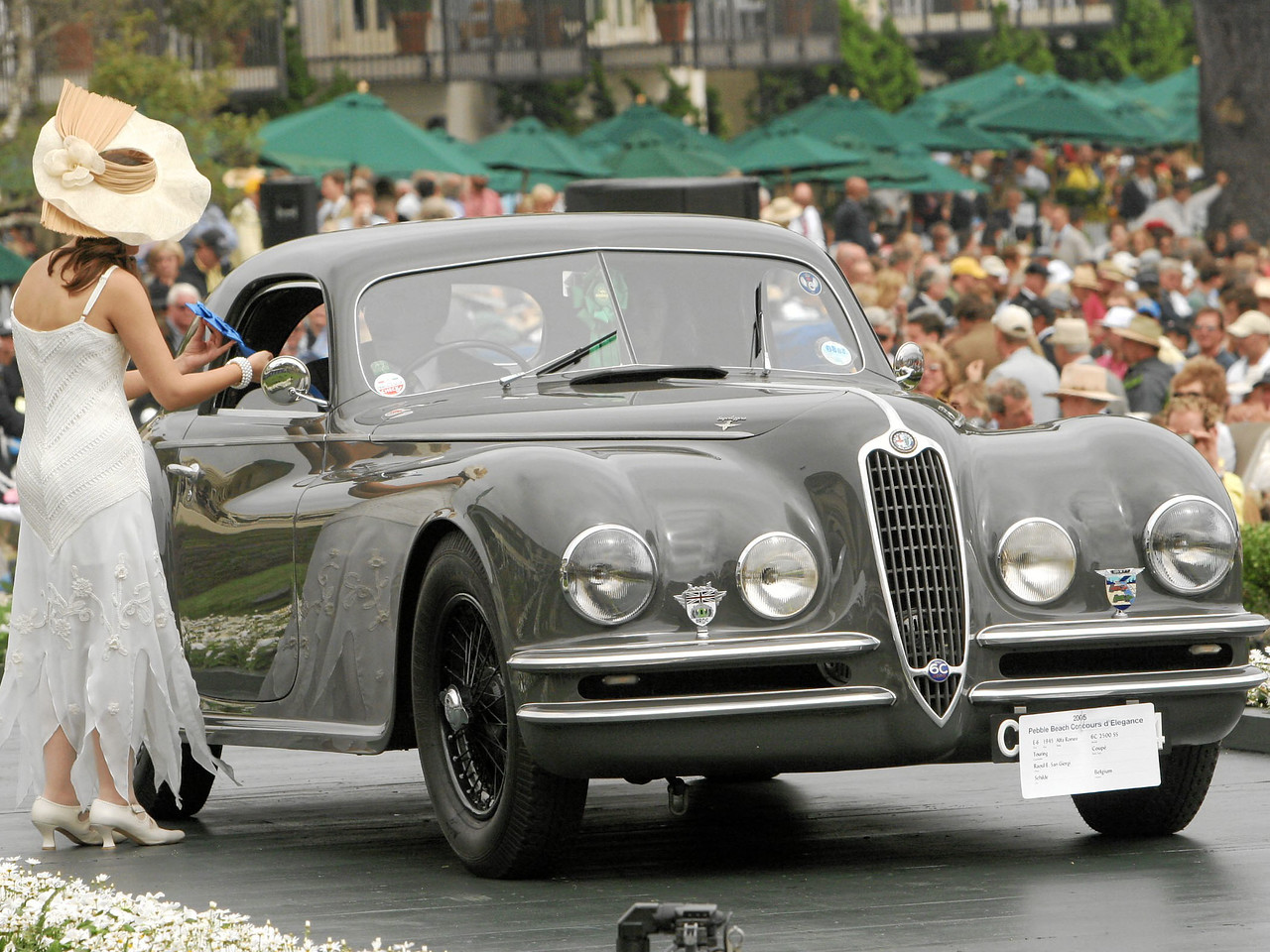 1945 Alfa Romeo 6C 2500 SS Touring Coupé owned by Raoul E. San Giorgi from Schilde, Belgium 1st Class E-6  (Alfa Romeo 6C 2300 and 6C 2500)