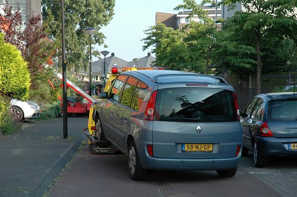 2007-06-19 Renault Espace alweer kapot