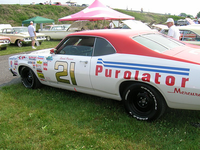 David Pearson #21 Wood Brothers Ford replica