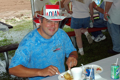 A lot of good eats and happy faces at the Syracuse Nationals picnic, Oneida Shores State Park.