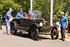 """The Model """"T"""" Ford Club prepares to disassemle a Modet T and prepare for the show when they will reassemble it."""
