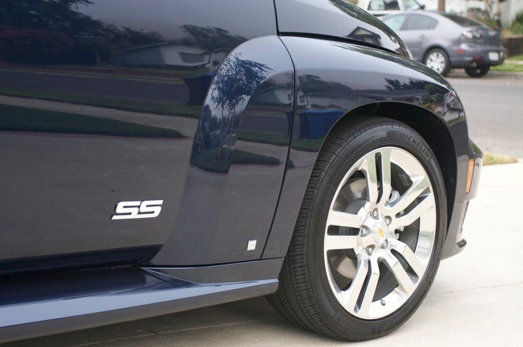 It's a real SS - Chevy's high performance trim.