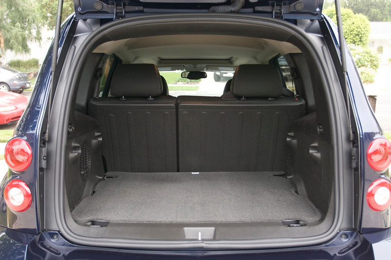 Got lots of cargo space in the back. Can ferry the kids around in here on the weekends.