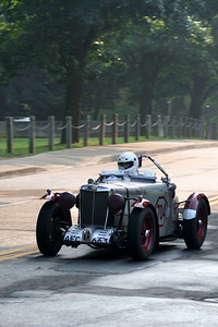 Frank Mount - 1939 MG TB Special