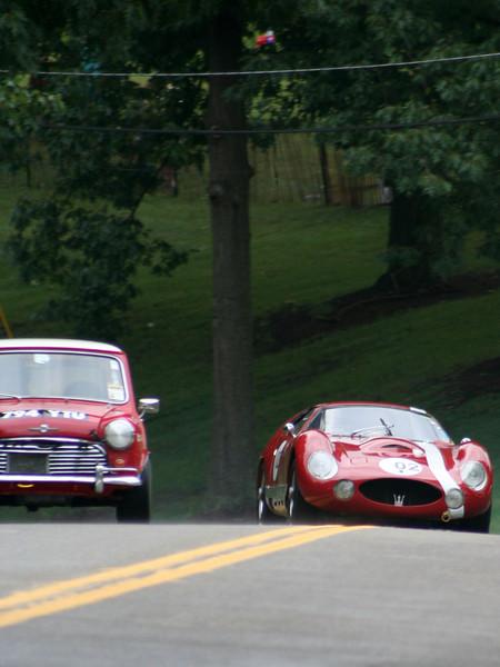 Tom Chisholm - 1962 Morris Cooper<br /> Charles Schwimer - 1965 Maserati Tipo 151