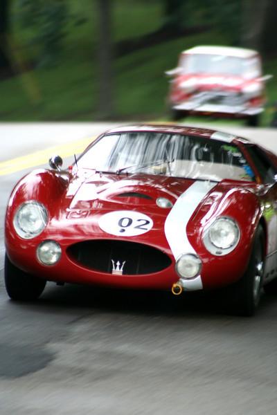 Charles Schwimer - 1965 Maserati Tipo 151<br /> Tom Chisholm - 1962 Morris Cooper