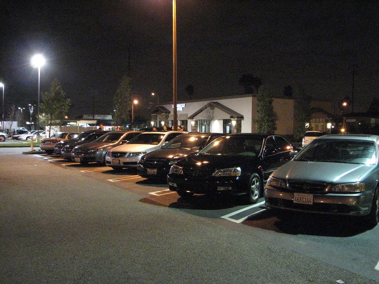 2008 02 01 Fri - Acurazine Buena Park meet - Seven TL's 1