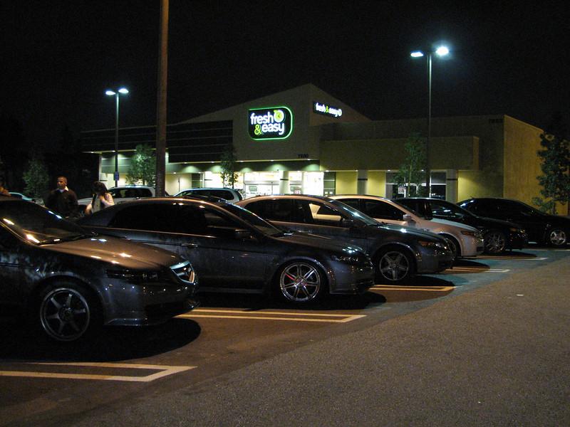 2008 02 01 Fri - Acurazine Buena Park meet - Six TL's 2