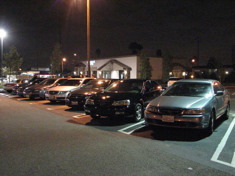 2008 02 01 Fri - Acurazine Buena Park meet - Seven TL's 2