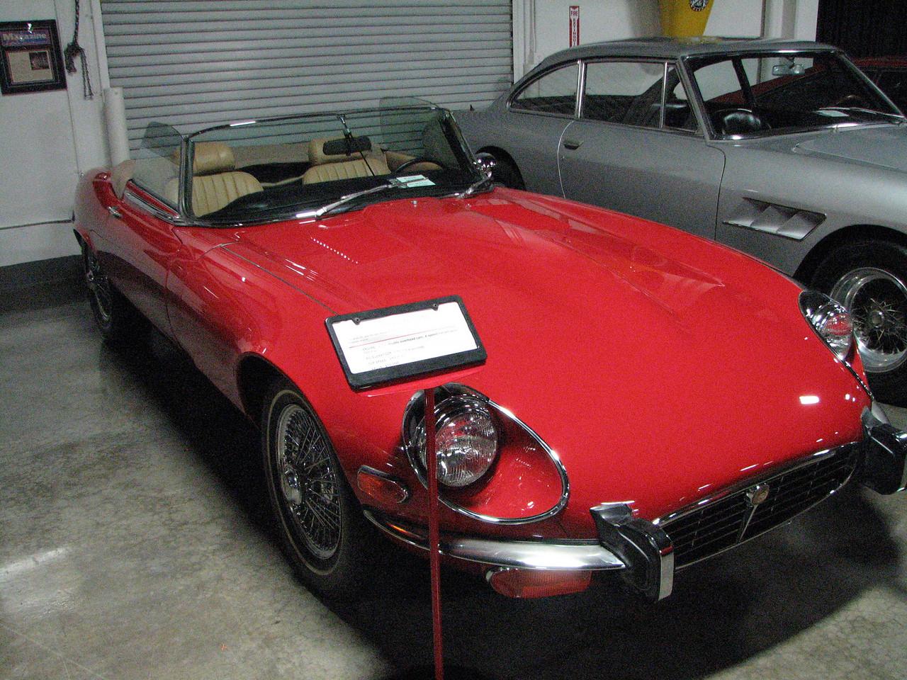 2008 06 10 Tue - 1973 Jaguar XKE V-12 SIII