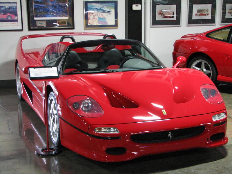 2008 06 10 Tue - 1995 Ferrari F50 Barchetta 1