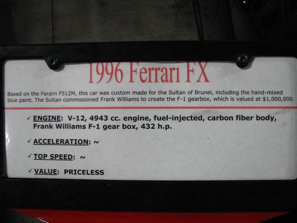 2008 06 10 Tue - 1996 Ferrari FX - desc