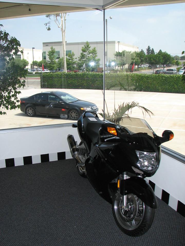 2008 06 10 Tue - Honda bike & Honda car
