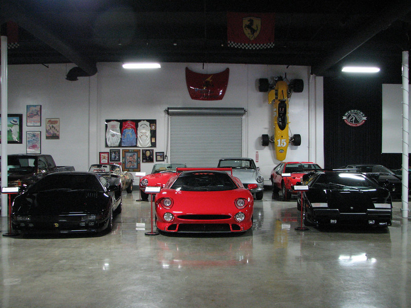 2008 06 10 Tue - 1991 Cizeta Moroder V16T, 1996 Jaguar XJ220 S TWR, & 1989 Lamborghini Countach