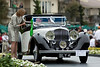 This 1937 Bentley 4 1/4 Litre Gurney Nutting Sedanca Coupe is one two made with a similar body.