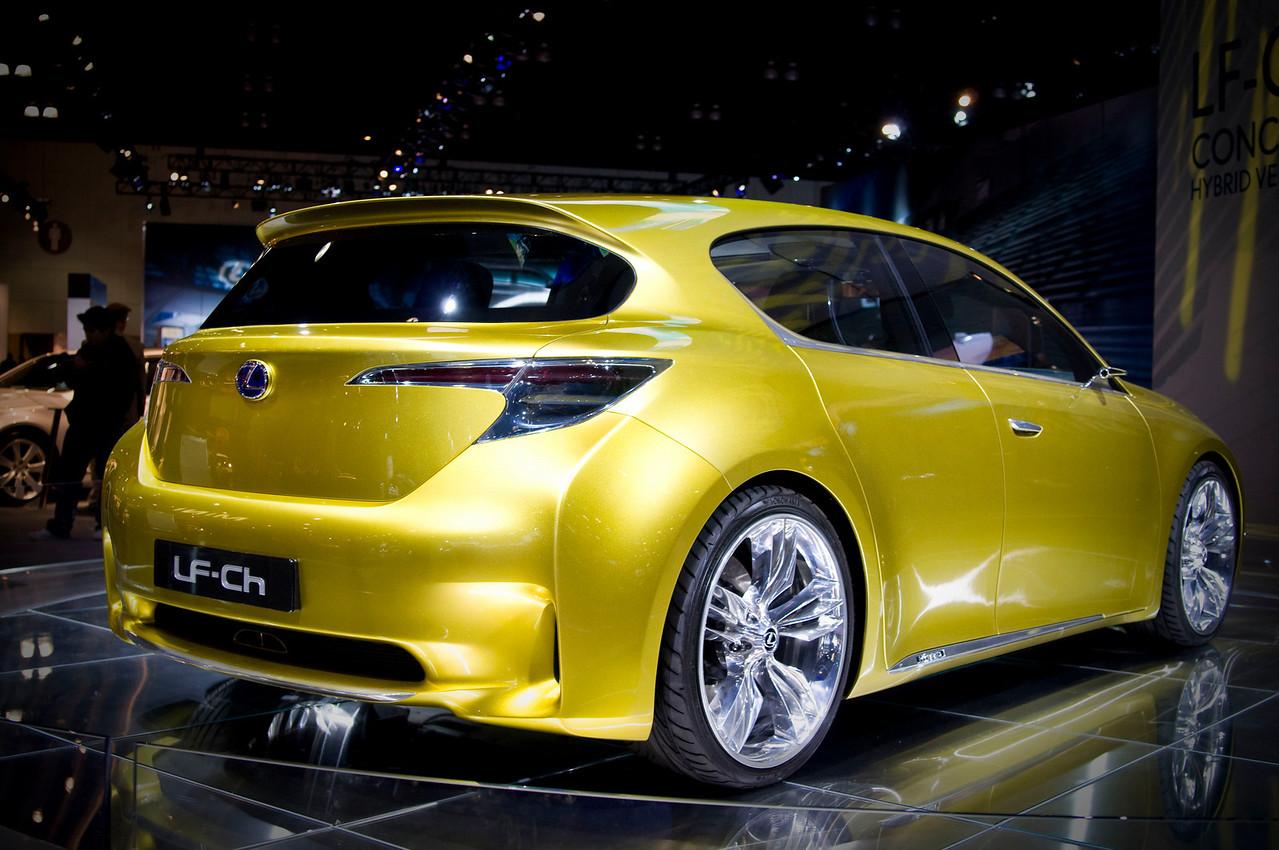 Lexus LF-Ch Premium Compact Hybrid Concept
