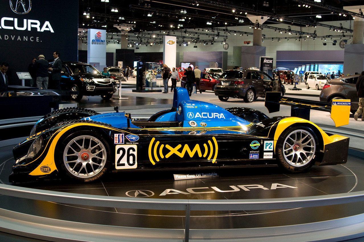Acura LeMans Race Car