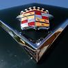 Cadillac 49 Club Coupe hood emblem