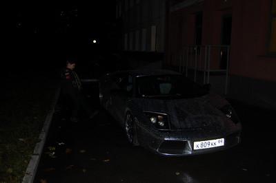 2010-11-04, Ilia and Lamborghini