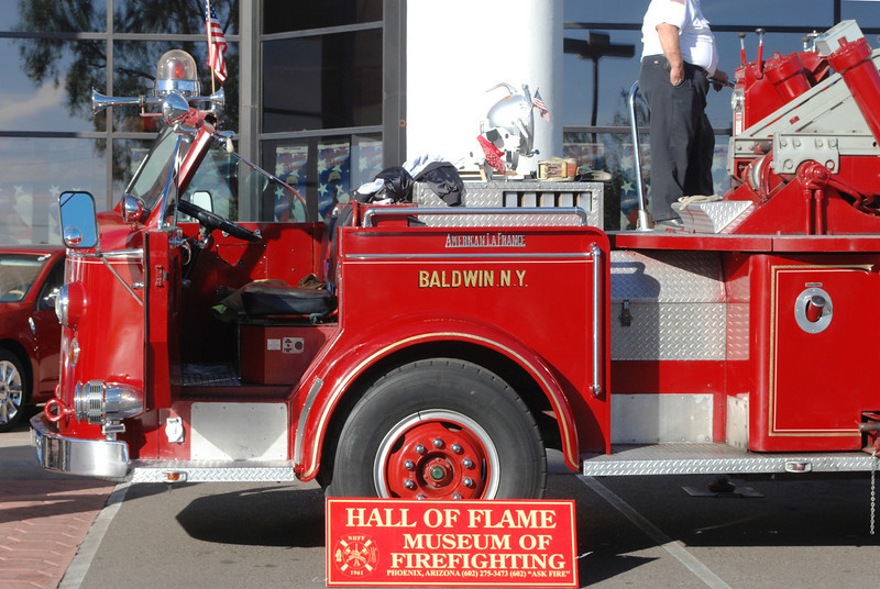 Was informed by my fire truck modeling friend, John Ackerman, that if memory served him right this was a ALF 700 series